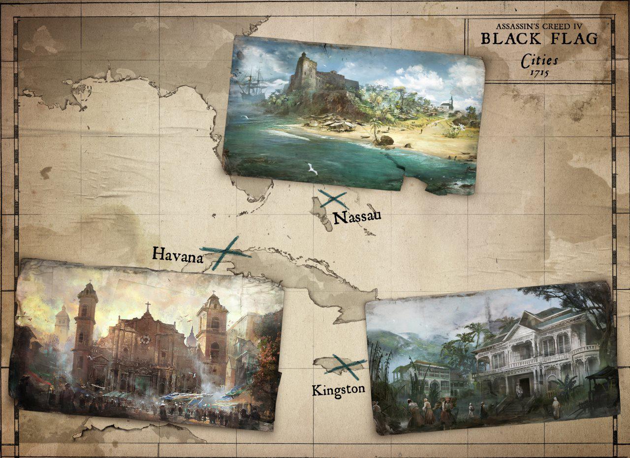 舞台となるのは18世紀の西インド諸島。カリブの海賊の本拠地だ