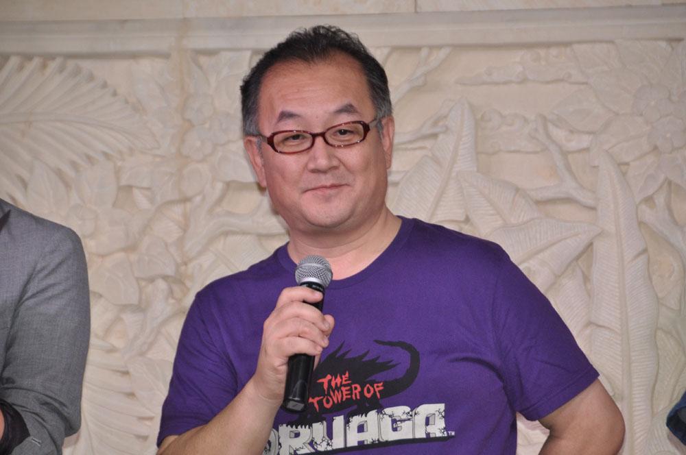 スーパーバイザーであるモバイル&ゲームスタジオの遠藤雅伸氏