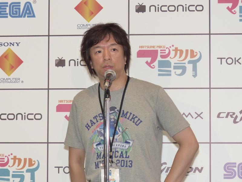 クリプトン・フューチャー・メディアの代表取締役である伊藤博之氏