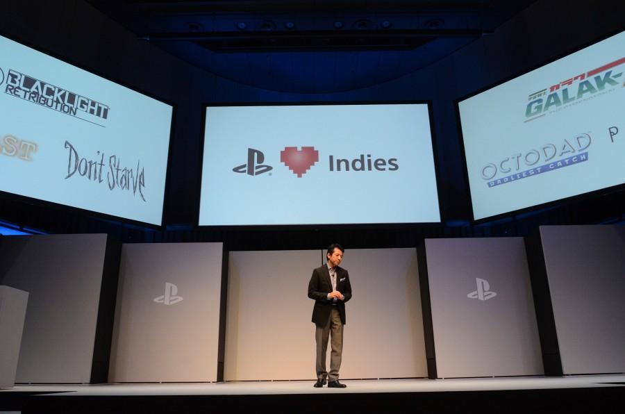 日本でも容易に販売できるよう万全のサポート体制を敷くと説明。PS4発売後に続々とリリースされる予定