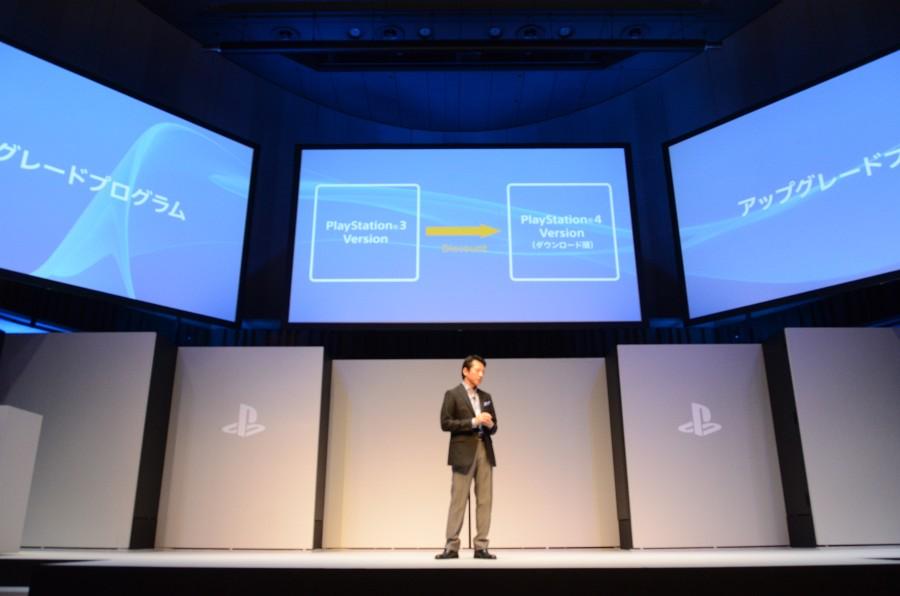 PS3で購入したタイトルをPS4デジタル版に手軽にアップグレードできるサービスを期間限定で実施。現時点で「アサシンクリード4」、「コール オブ デューティ ゴースト」、「真・三國無双7 猛将伝」が対応。その他のタイトルは決定次第アナウンスするとしている