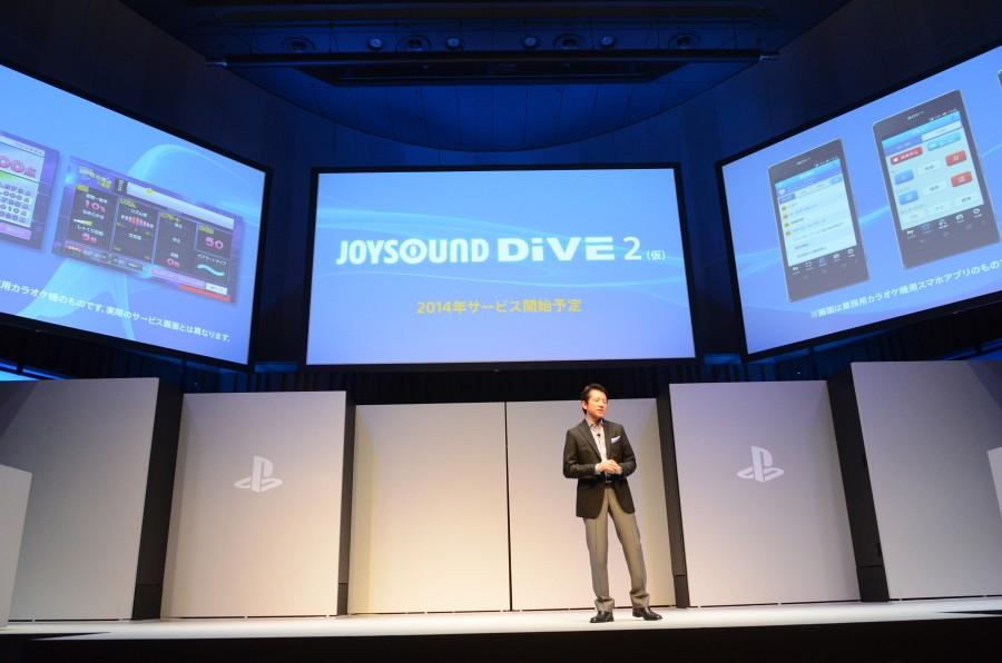「Music Unlimited」、「Video Unlimited」、さらにはPS3で好評を博したオンラインカラオケ「JOYSOUND DiVE2(仮)」に対応