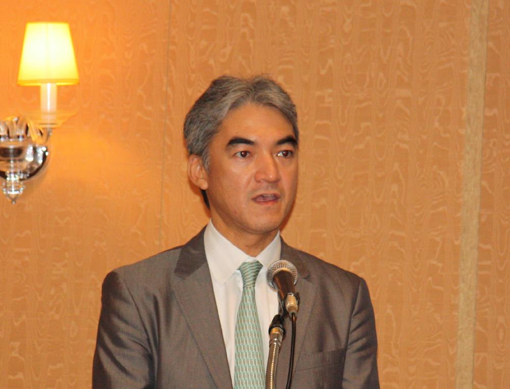 日本マイクロソフト執行役 インタラクティブ・エンターテイメント・ビジネス ゼネラルマネージャーの泉水敬氏
