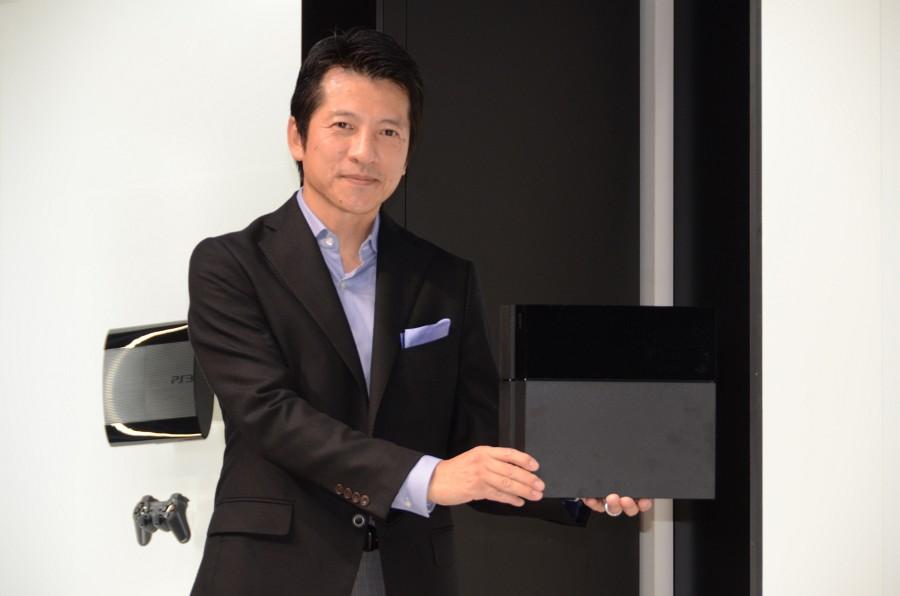 写真は「SCEJA Press Conference 2013」での河野弘氏