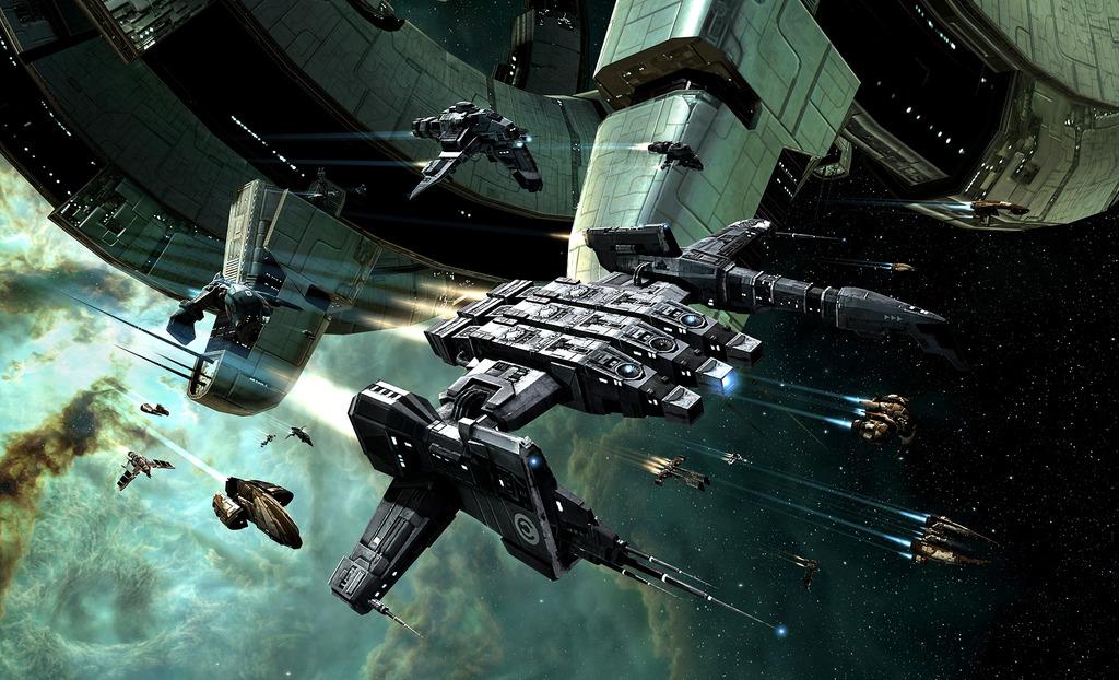 「EVE」。最新アップデートでは小型艦を中心に強化方向の調整が行なわれた