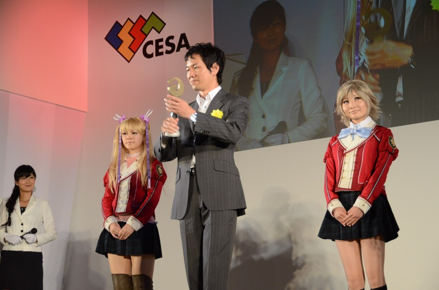 PS3版、PS Vita版とも多くの来場者から圧倒的な支持を受けての受賞