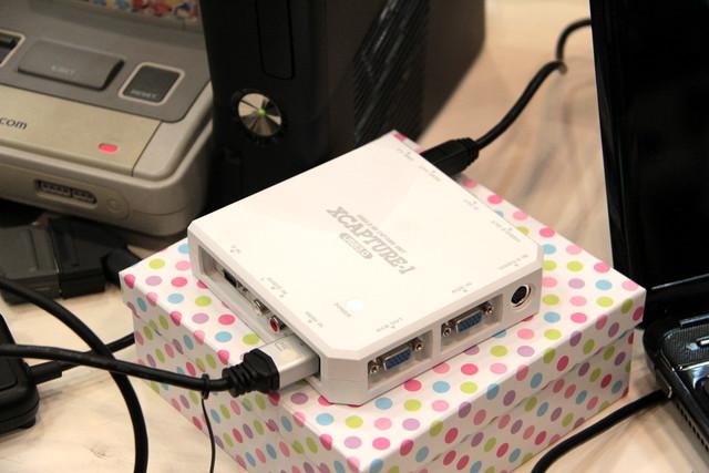 USB3.0に対応し、1080p映像をキャプチャできる「XCAPTURE-1」もデモ