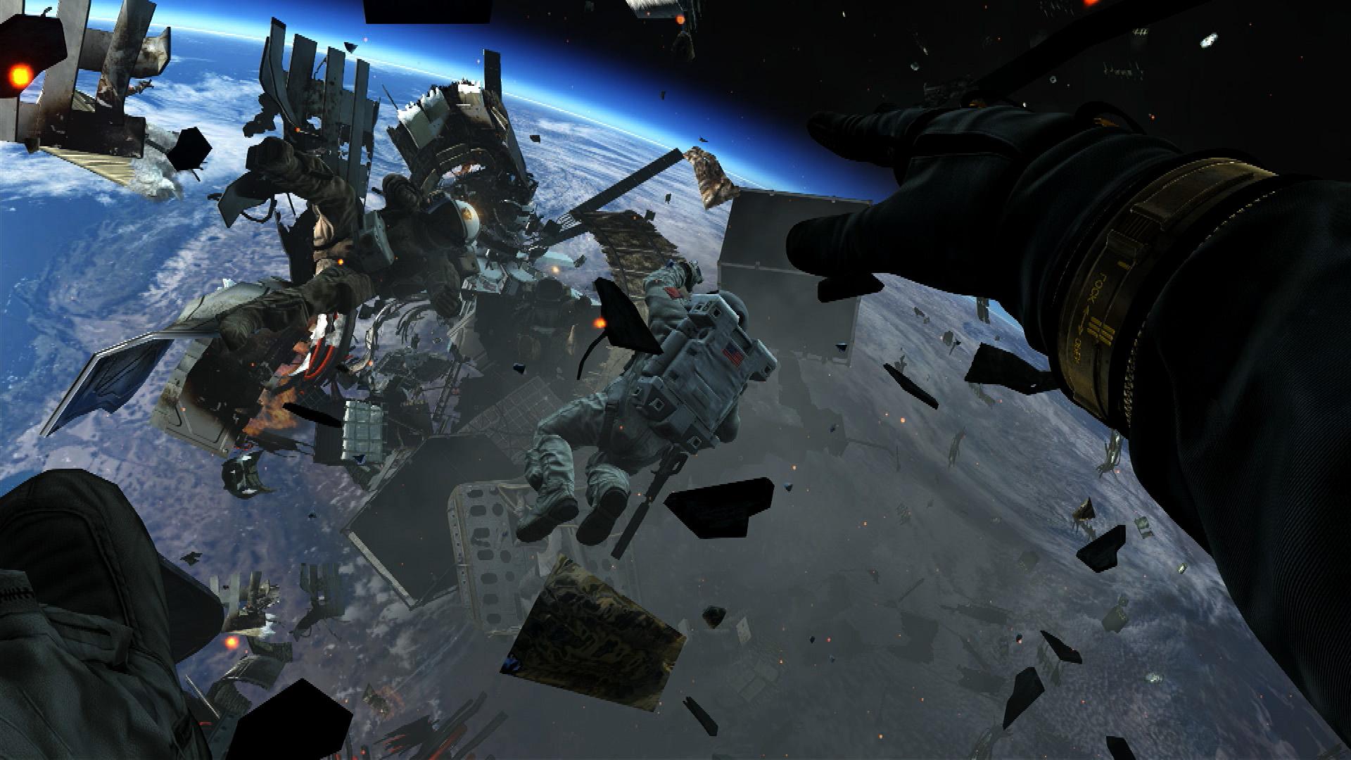 「コール オブ デューティ ゴースト」のストーリーは戦略衛星「ODIN」を巡る戦いからスタートする。この衛星からの攻撃により、アメリカ全土が荒廃してしまう