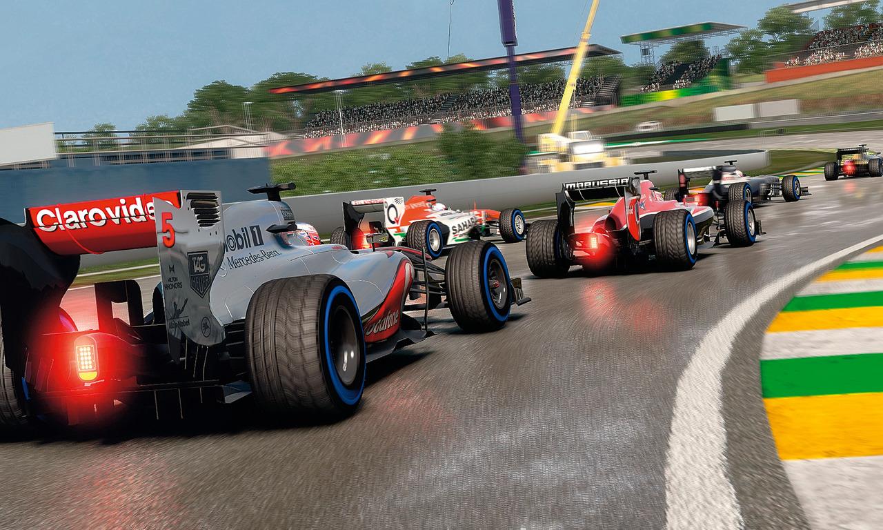 2013シーズンのF1をゲームで再現