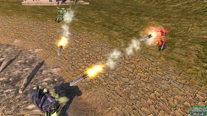 カプル時の特殊射撃はコレンカプルと連携してミサイルを撃つ