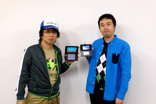 開発を担当したエムツーの堀井直樹氏(左)とセガの奥成洋輔プロデューサー(右)