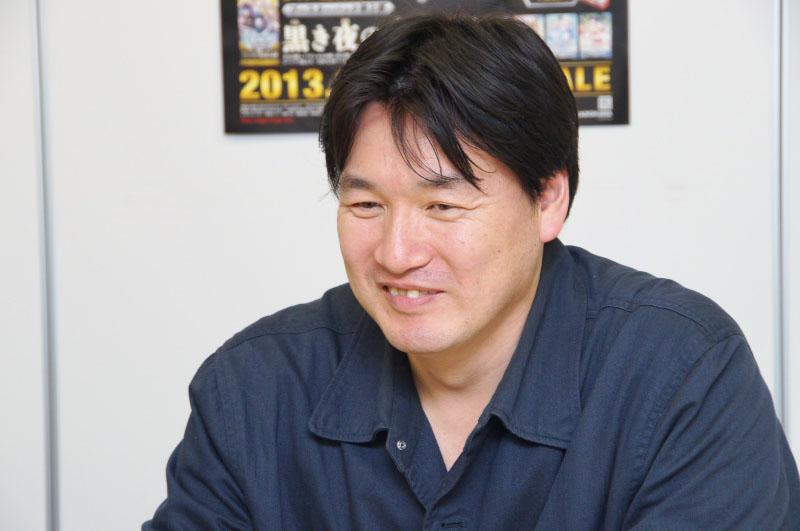 セガネットワークス編成局編成企画課の斉藤誠記氏。スマホアプリ「アンジュ・ヴィエルジュ~第2風紀委員 ガールズバトル~」のプロデューサーを務めている