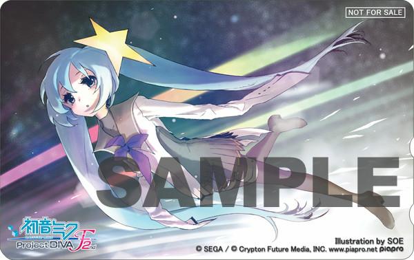 "(Illustration by SOE)<br class="""">オリジナルテレカ"
