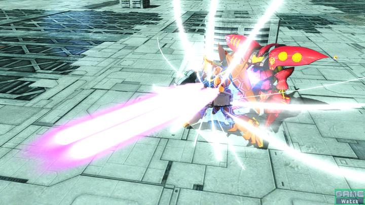 特殊射撃で呼び出せるバウは、一定量のビームを防いでくれる。ビームが直撃しそうなときは即座に呼び出そう