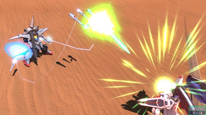 単発のドラグーンを射出するサブ射撃。ボタンを押し続けることで連続して射出することが可能