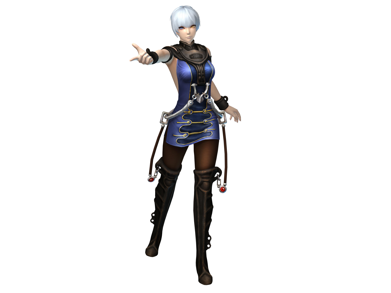 ゲーム内で条件を満たすことで入手できるシリーズ1作目の衣装。このほかにも様々な衣装が用意されているとのこと