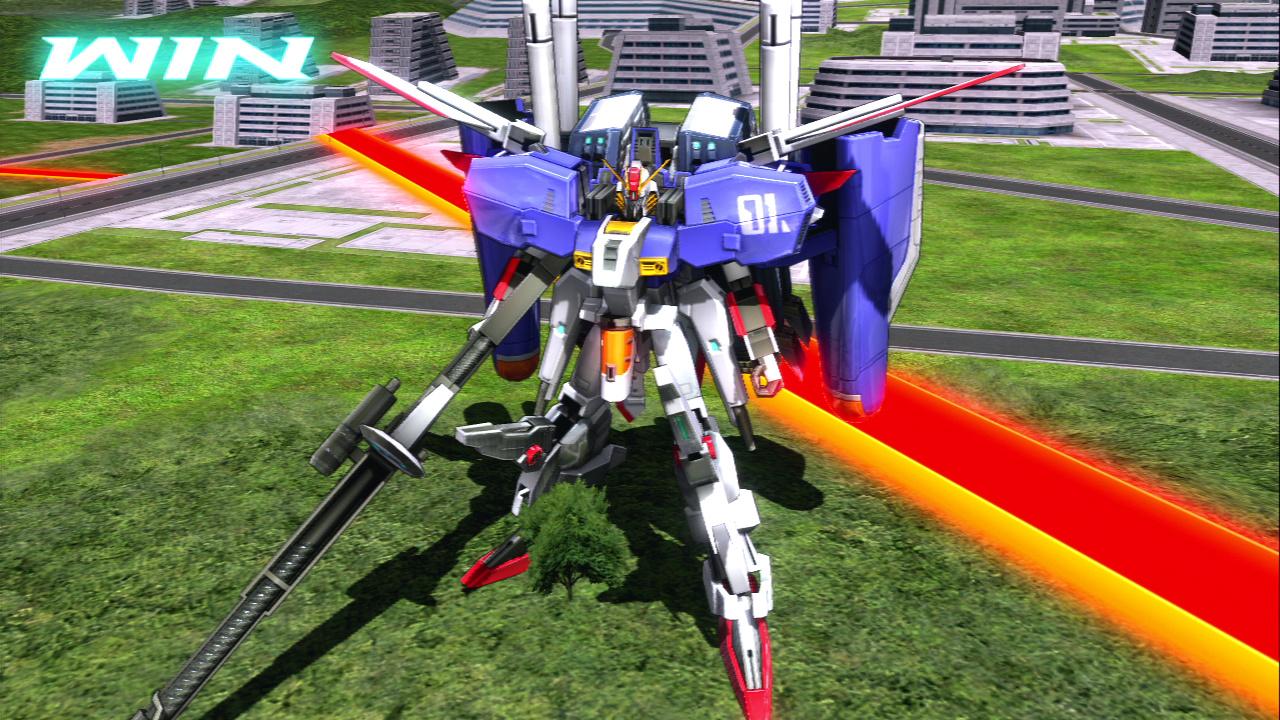 「Ex-Sガンダム」といったPS3版からの新機体も!定期的に追加されていくようだ