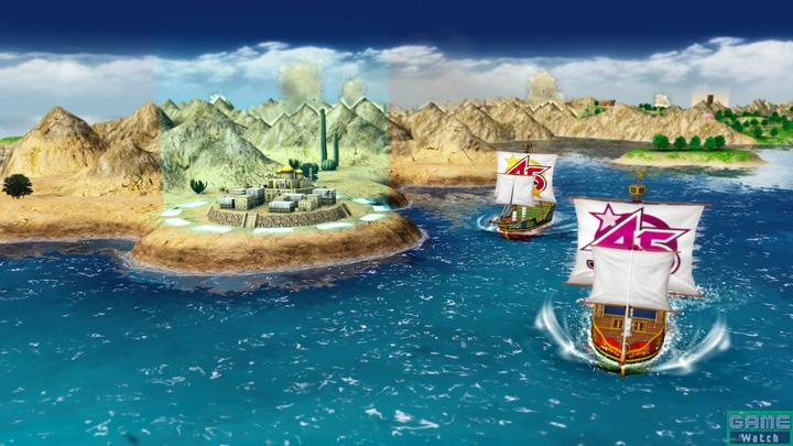 アラバスタをはじめ、ジャンプ作品の名所をメモリアルジャンプ号で大冒険