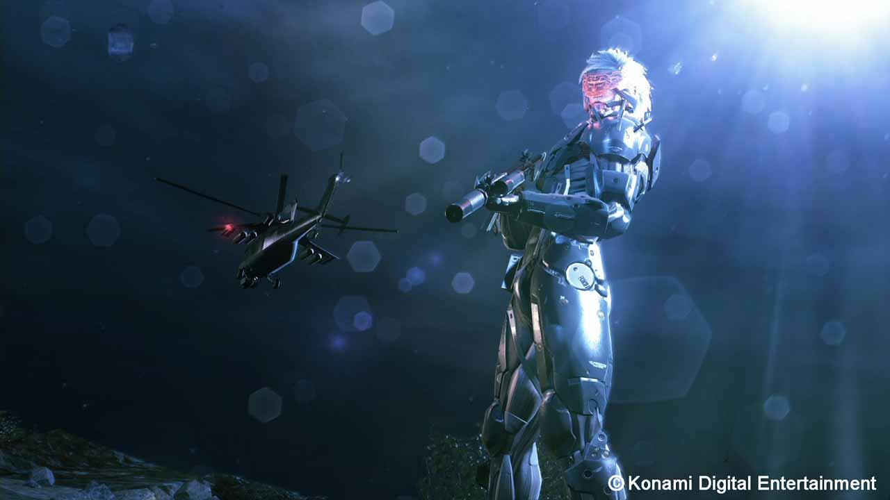 こちらはXbox One/Xbox 360版限定のミッション「ジャネブ・ミッション」。あの雷電が超スピードで暴れまくる!