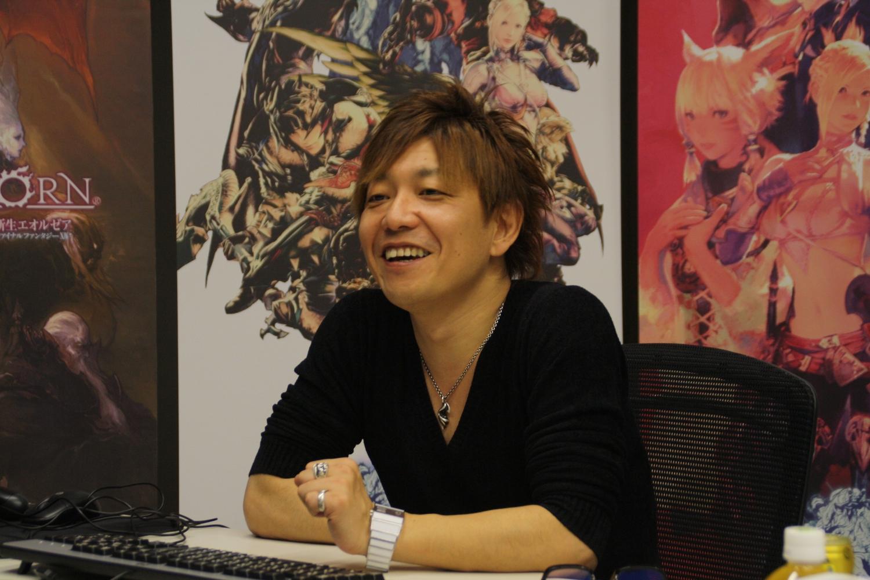 ファンイベントについて楽しかったと語る吉田氏。
