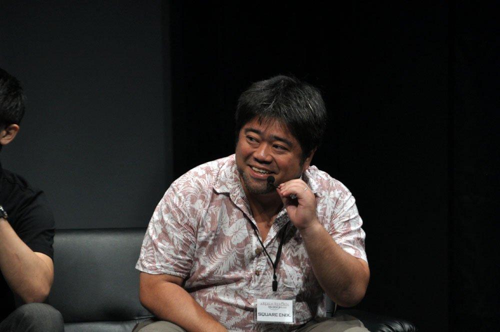 出演が期待される河本信昭氏。「旧FFXIV」ディレクターで、現在は「新生FFXIV」のリードゲームデザイナーを務める「FFXIV」のすべてを知る人物だ