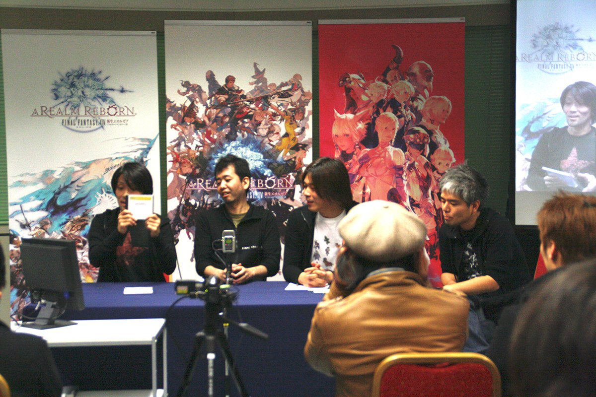 大阪イベントではアシスタントディレクターの髙井浩氏が出演した