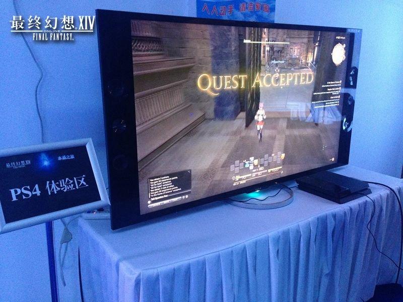ソニー系の設備を使用したためか、PS4版のデモも行なわれた