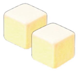 白がハチミツレモン味で、薄緑色がエナジードリンク味