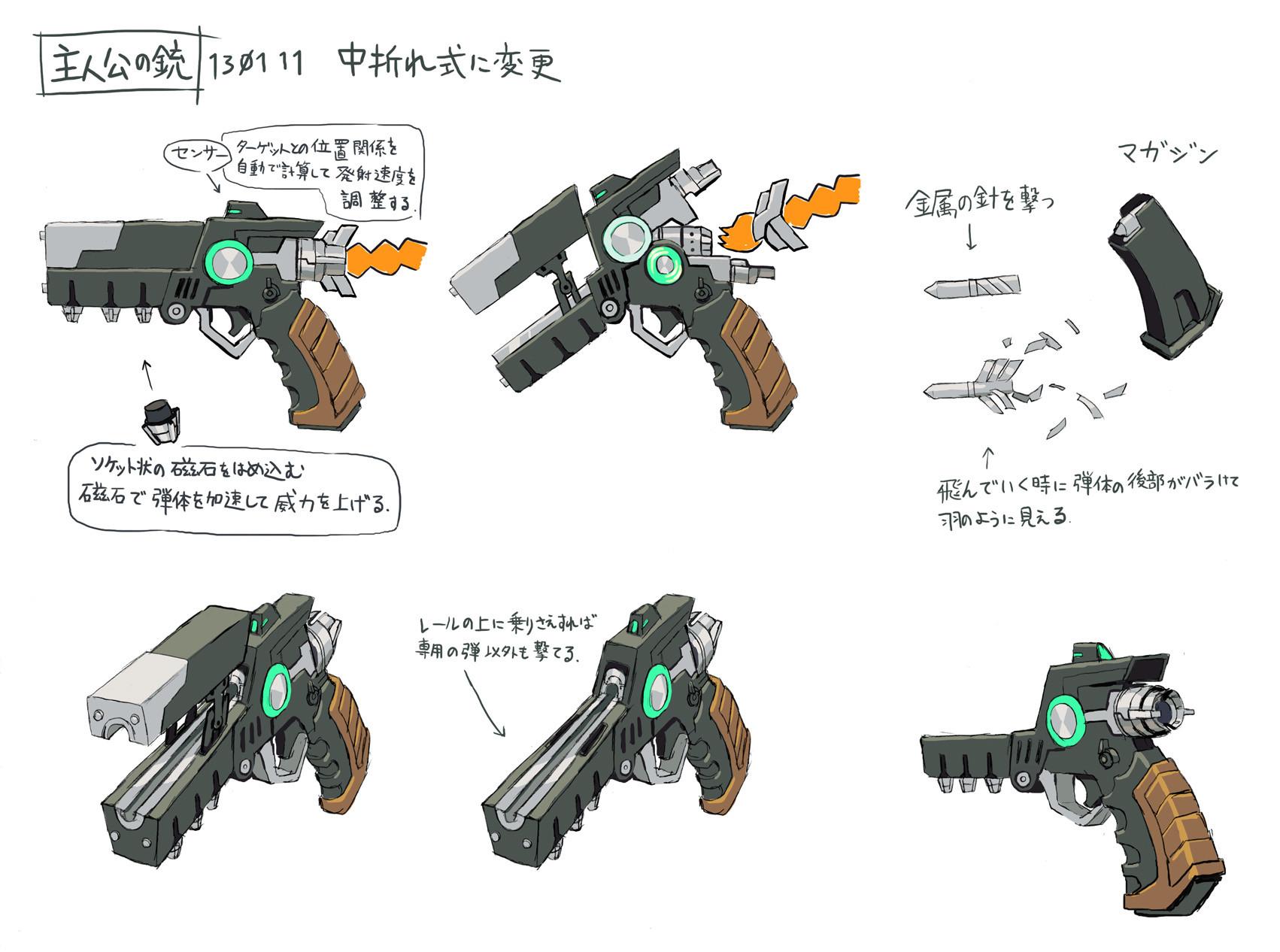 銃(ダートリーダー)設定