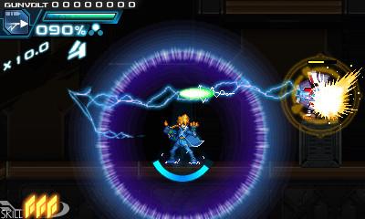 ロックオン雷撃攻撃。ロックオンしてから雷撃を放つことで、威力の高い雷撃が敵に誘導し、攻撃できる