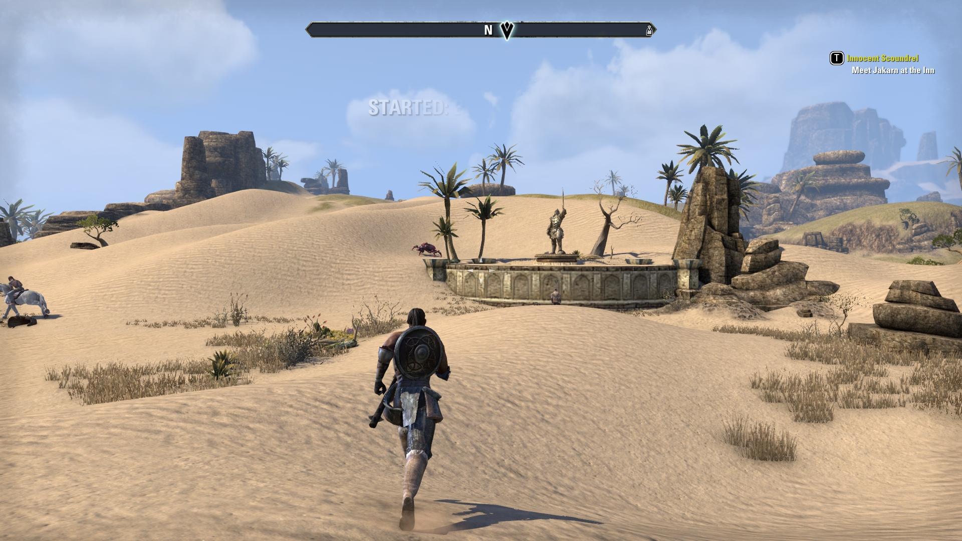 砂漠のある島などを巡る