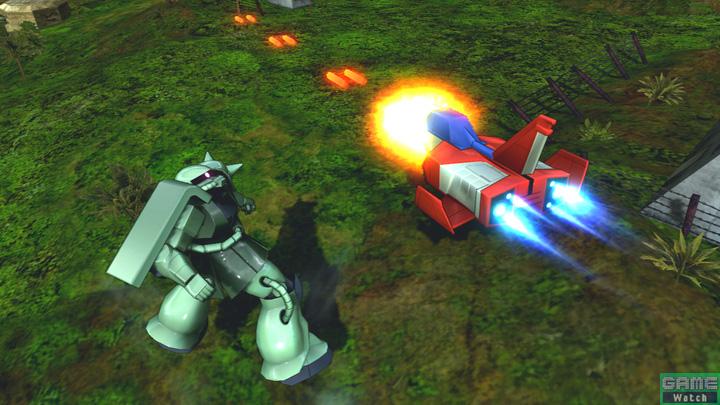 コア・ファイターが出現後、バルカン砲で敵機を攻撃する特殊射撃。バルカン砲は連射数が多く、頼りになるアシストだ