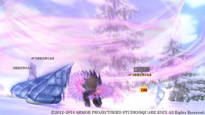 扇の特技として追加される「ピンクストーム」は、ピンクの旋風が周囲の敵を切り裂く