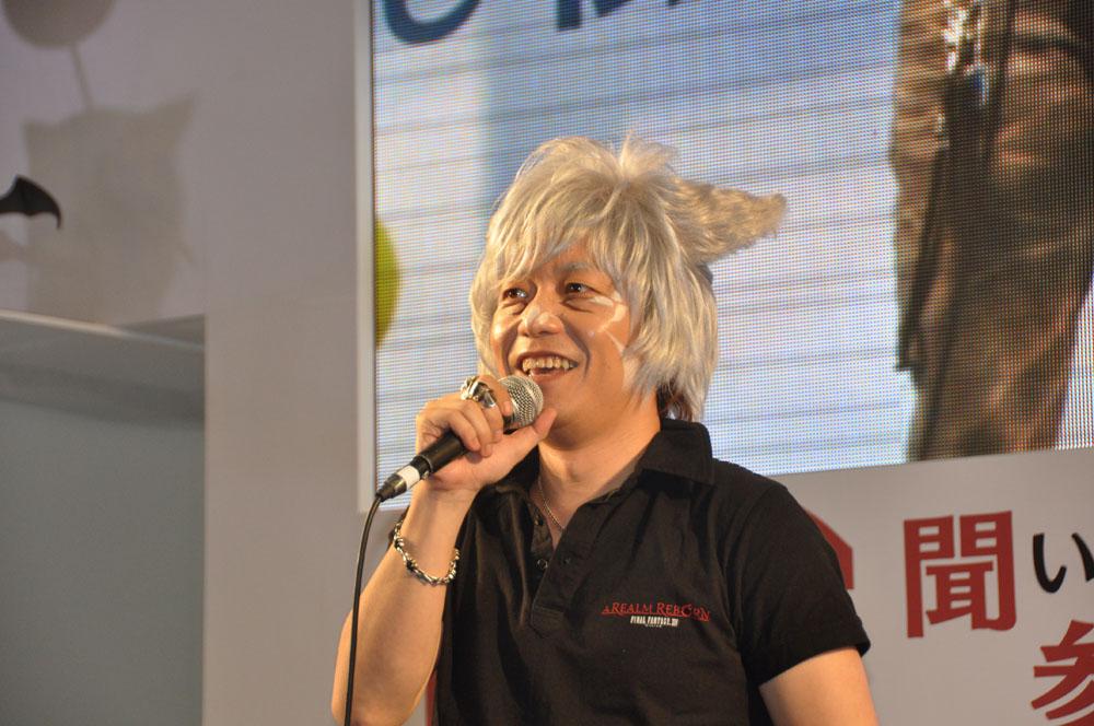 吉田氏自身もどんな質問がくるか緊張していたという