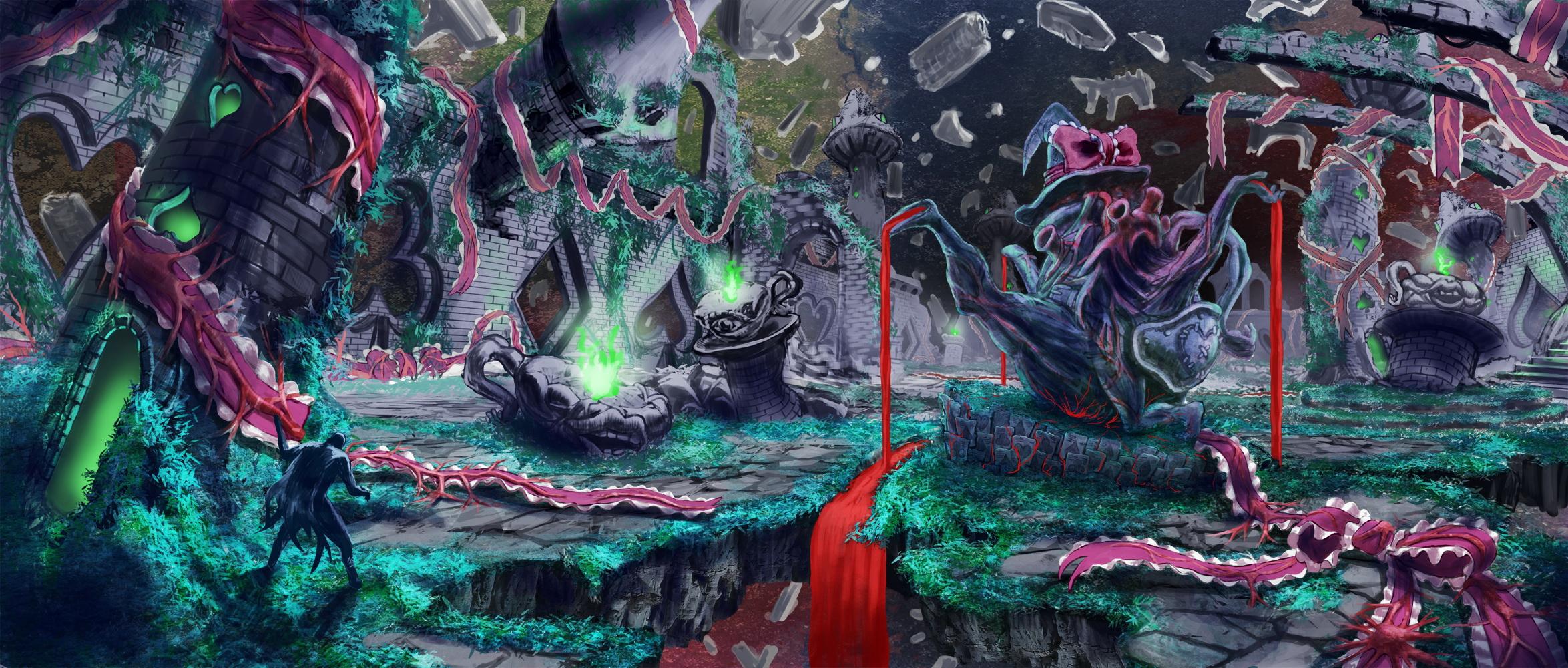 アリスの無限魔宮美術設定