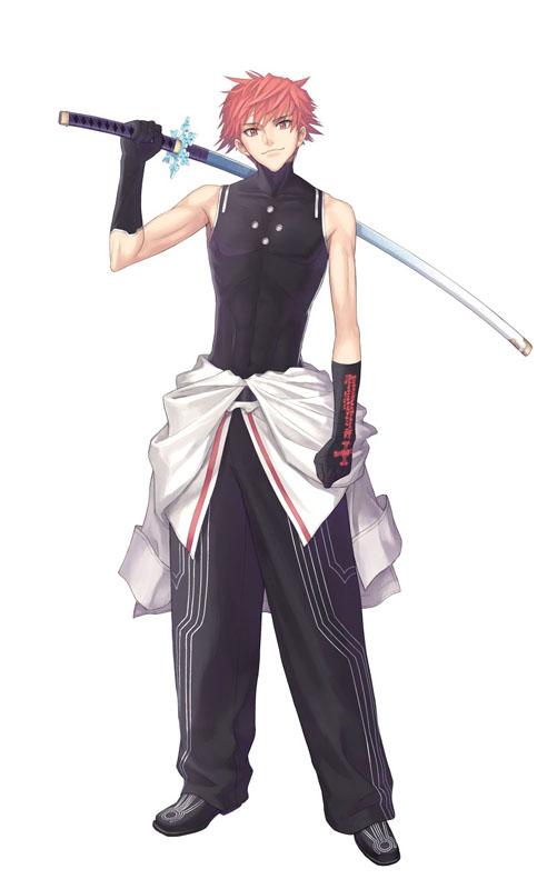 閃光の霊刃使い レイジ(CV:保志総一朗)。意思を持つ刀「霊刀 雪姫」に選ばれた剣士。パイロンの依頼で霊玉の回収を手伝うことにしたレイジの行く先に、紅い鎧の少女が姿を現わす……。剣の化身ユキヒメの力を使って戦う