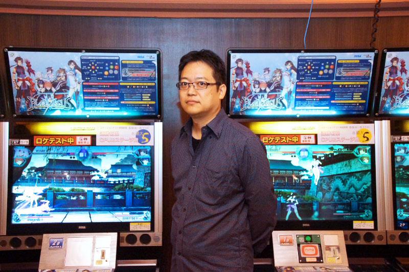 インタビューにお答え頂いたシリーズ総合プロデューサー澤田 剛氏。初めてのロケテストという喜びとともに、本作が「格闘ゲームファンに贈る、本気の作品」である事を語ってくれた