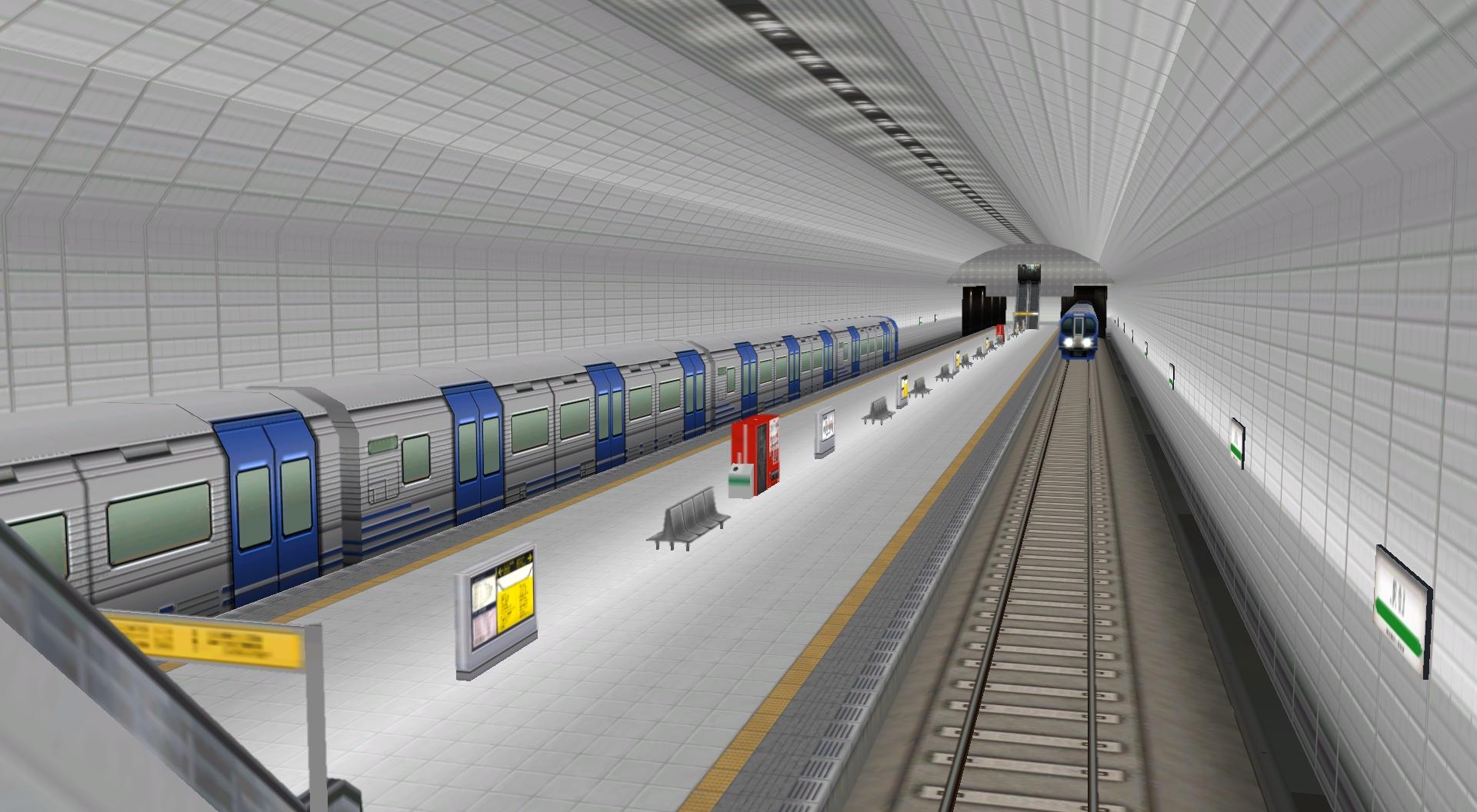 地上駅や地下鉄駅、橋梁といった新たな交通施設のバリエーションが充実。橋上駅や地下鉄駅、駅ビルなど、さらに発展を遂げる駅を収録