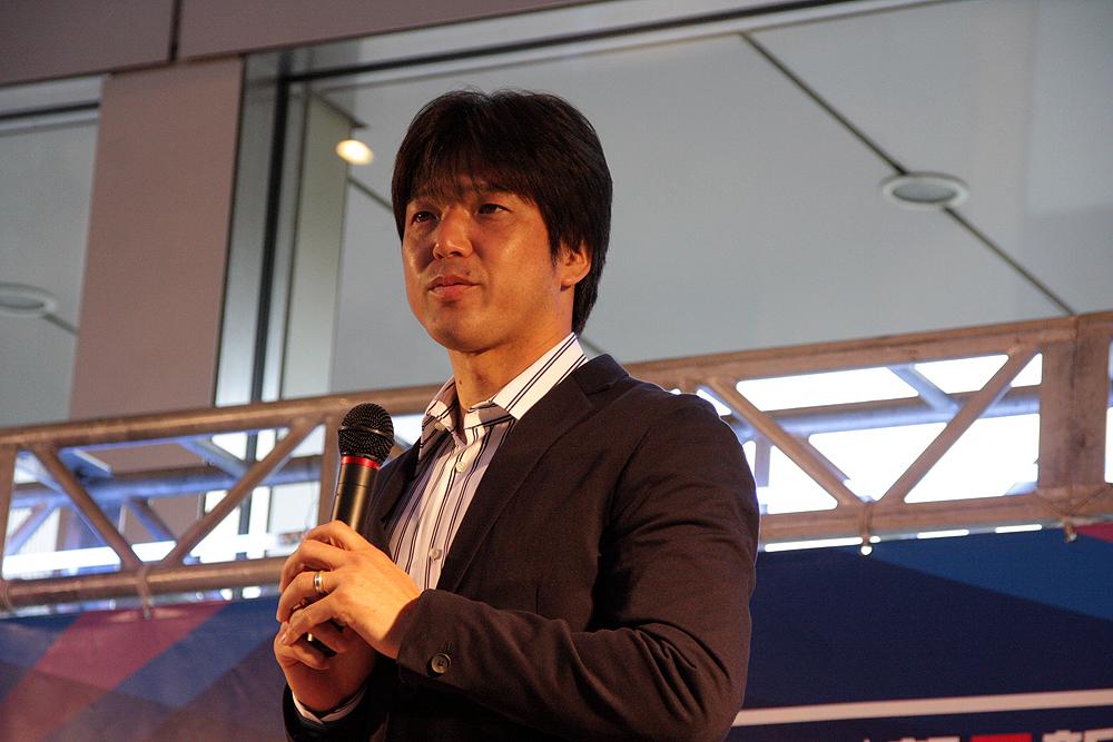 大会の見方なども交えながら丁寧に解説した元日本代表の名波 浩氏