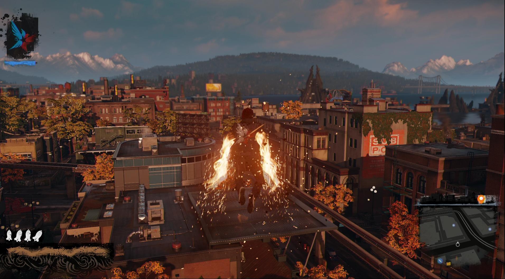 PS4のパワーを実感できるシアトルの街の描写に注目