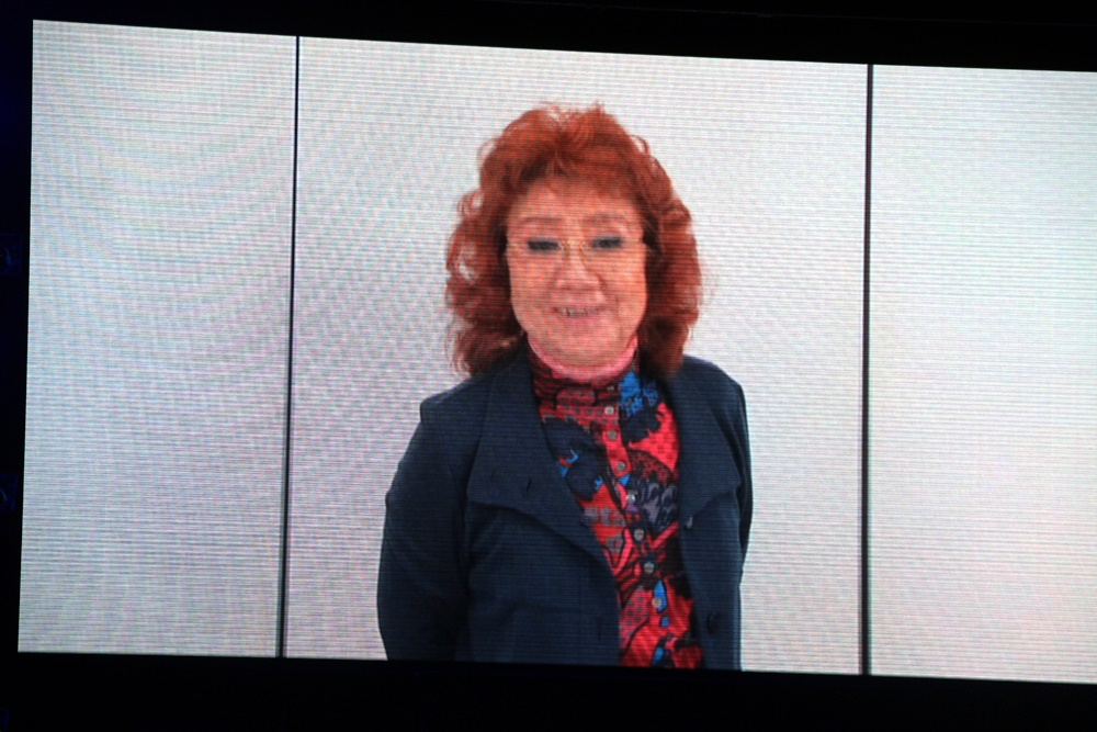 声優の野沢雅子さんよりビデオメッセージが届いた。登場して欲しいキャラクターはフリーザだという