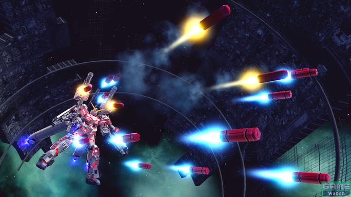 対艦ミサイルランチャーを一斉発射する特殊射撃。広範囲をカバーできるので、積極的に狙っていける