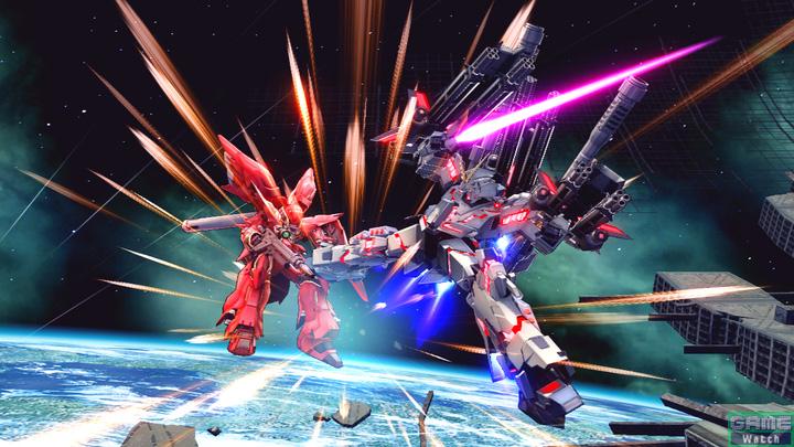 ビーム・サーベルやキックによる連続攻撃を敵に決める格闘武装。接近戦では欠かすことができない武装だ