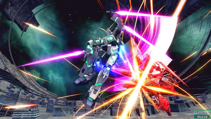 ビーム・トンファーによる連続攻撃を叩き込む格闘武装。接近戦での要となる攻撃だ