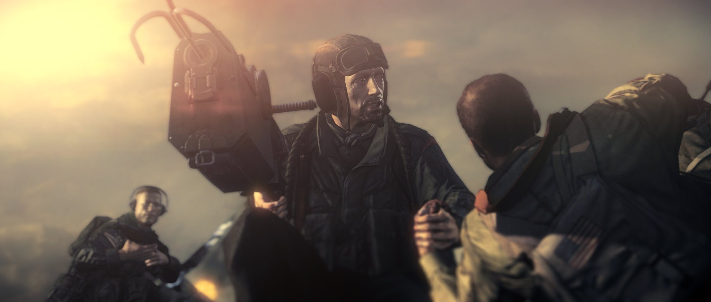 鋼鉄の猟犬や改造人間などを武器とするナチスに、連合軍は敗退する