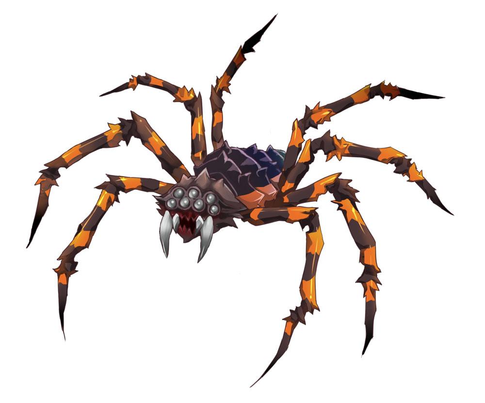 突然変異の蜘蛛