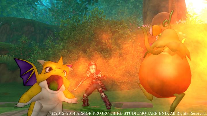 "<center class=""""><b class="""">【ドラゴンキッズ】</b></center>ドラゴン系モンスターのドラゴンキッズが仲間に。火炎の息で周囲の敵を焼き尽くす!"