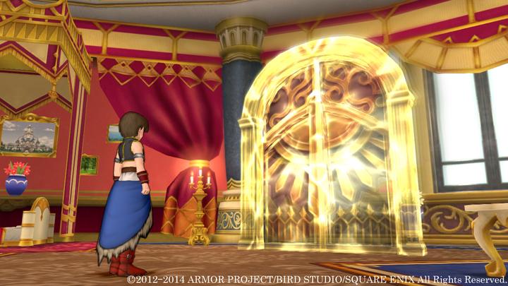 アンルシアの部屋に突然出現した黄金の扉。扉の向こうには一体なにが?