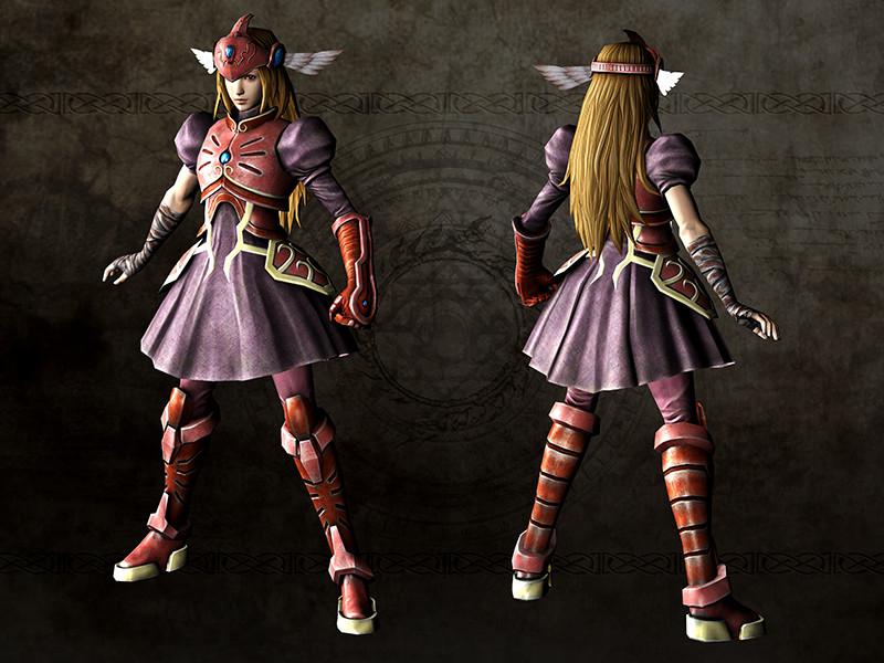 レディハーケンのコスチューム「斬り姫の法衣」