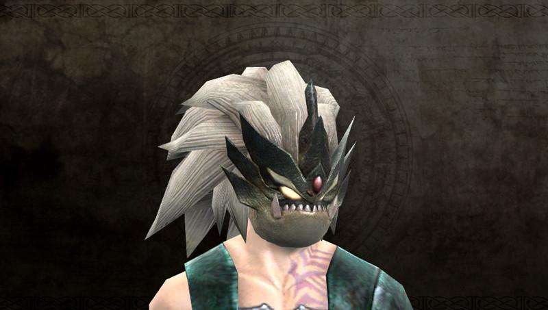 黒の騎士(ベルセルク)の仮面